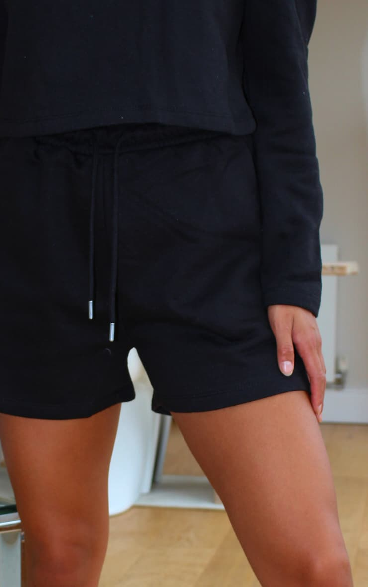 Petite Black Sweat Shorts 5