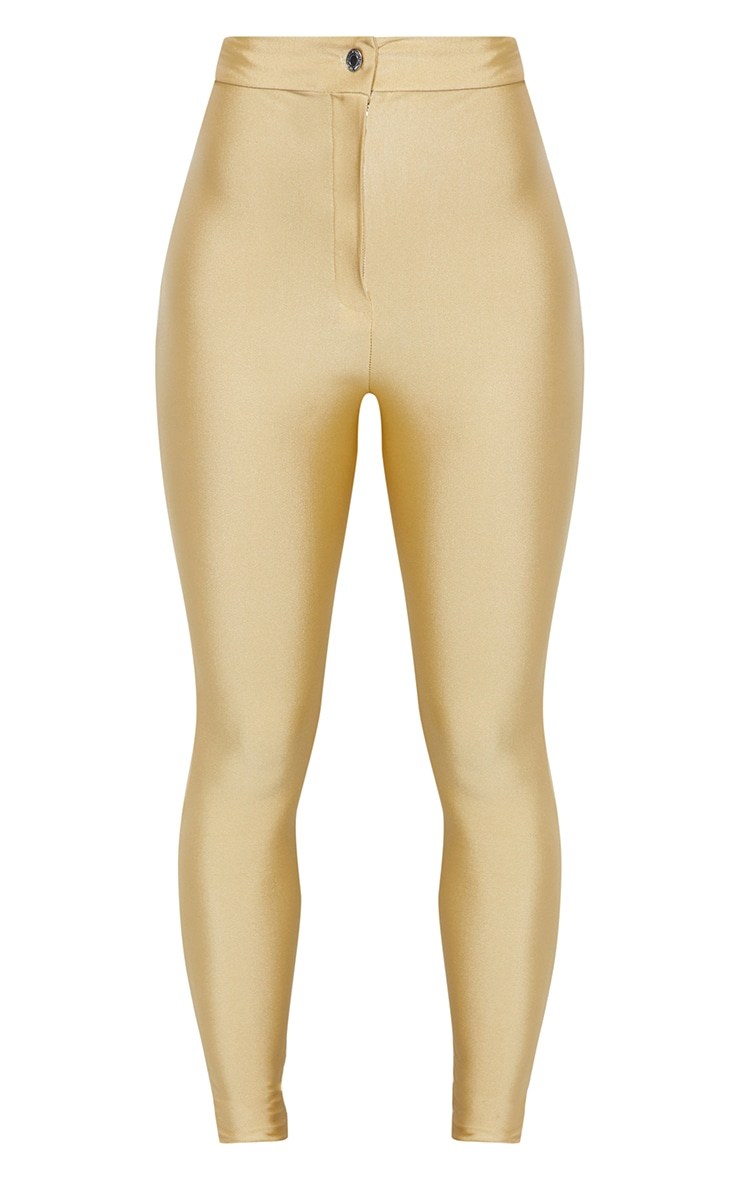 Seconde Peau - Pantalon disco champagne 4