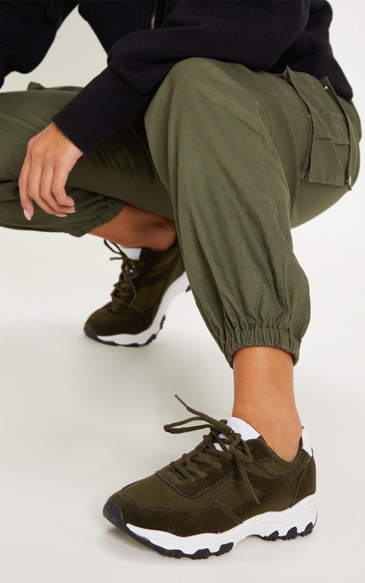 Khaki Sneakers 2