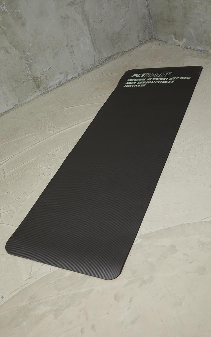 Black Yoga Mat 2