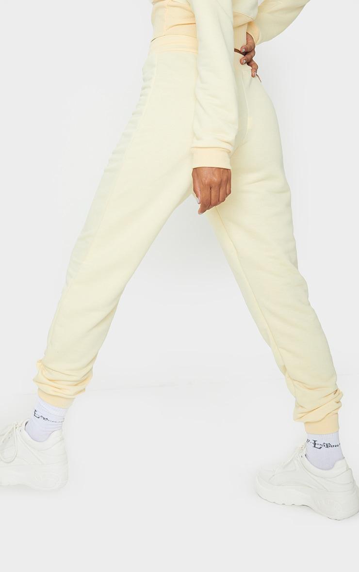 Pale Yellow Ultimate Sweat Jogger 2