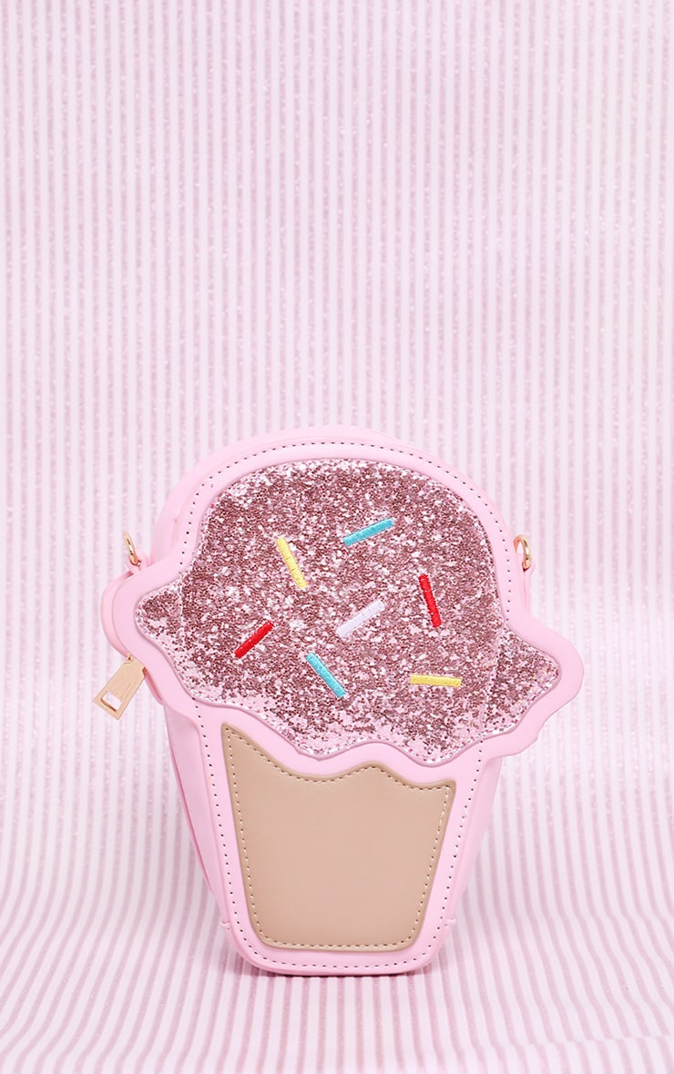 Pink Ice Cream Cross Body Bag 2