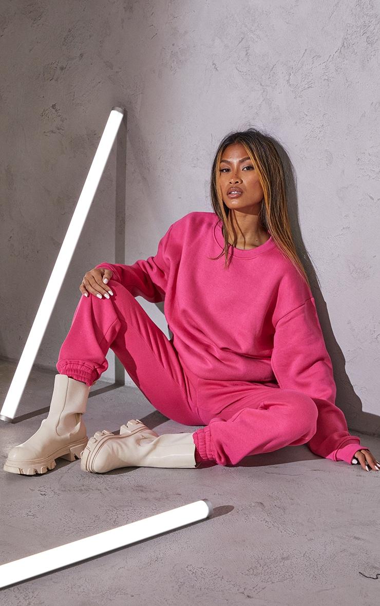 RENEW Pink Oversized Sweater 3