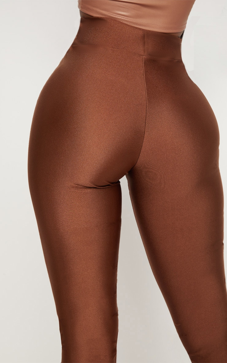 Shape Chocolate Disco Slinky Leggings 5