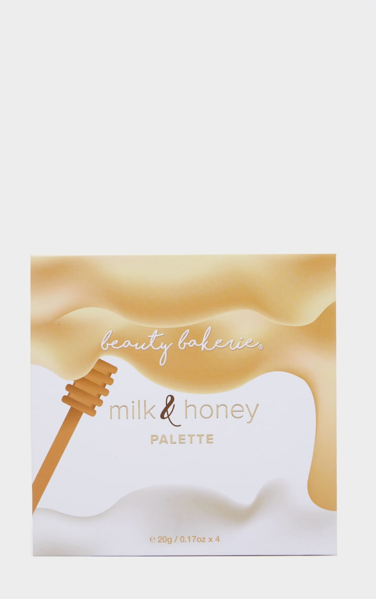 Beauty Bakerie Milk & Honey Highlighting Palette 3