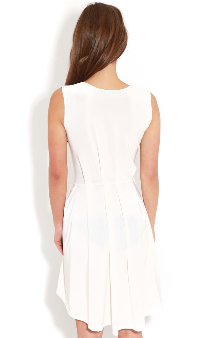 Anita White  Swing Dress 2