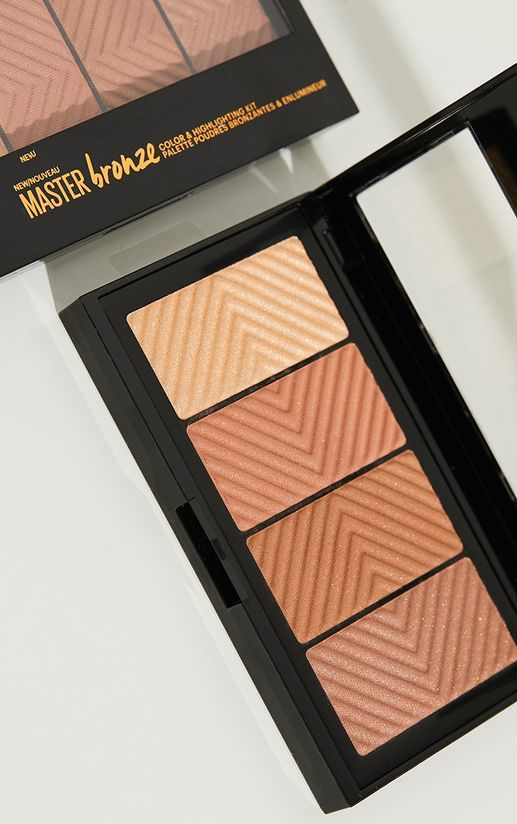 Maybelline Master Bronze Bronzer + Highlight Palette 2
