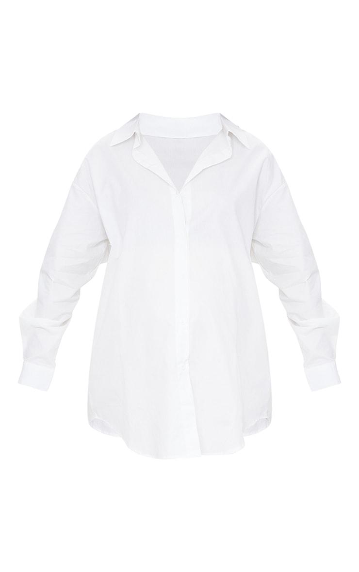 PLT Maternité - Chemise oversize blanche 5