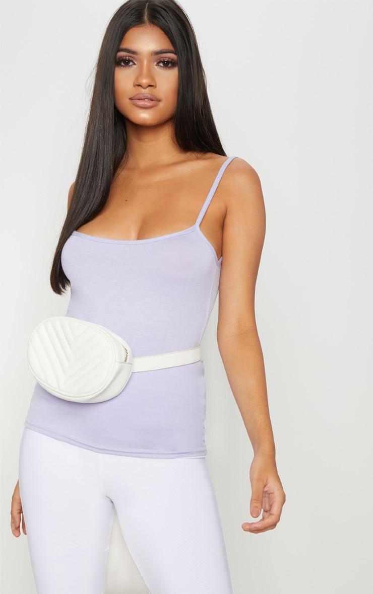 Basic Lilac Jersey Cami Vest
