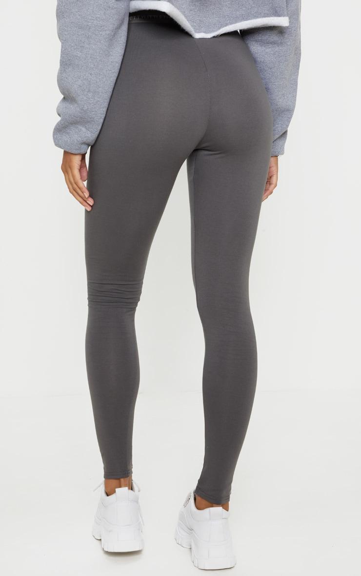 Charcoal Grey PRETTYLITTLETHING Leggings 4
