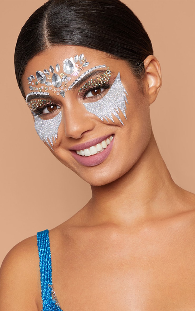 Prettylittlething Ice Princess Face Jewels