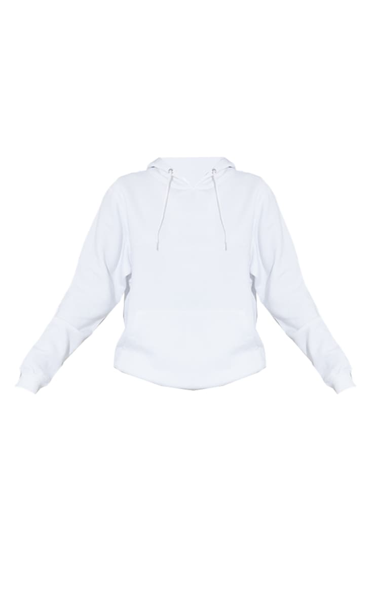 Tall - Hoodie oversize blanc classique 5