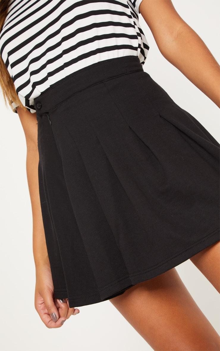 Black Sweat Tennis Skirt 6