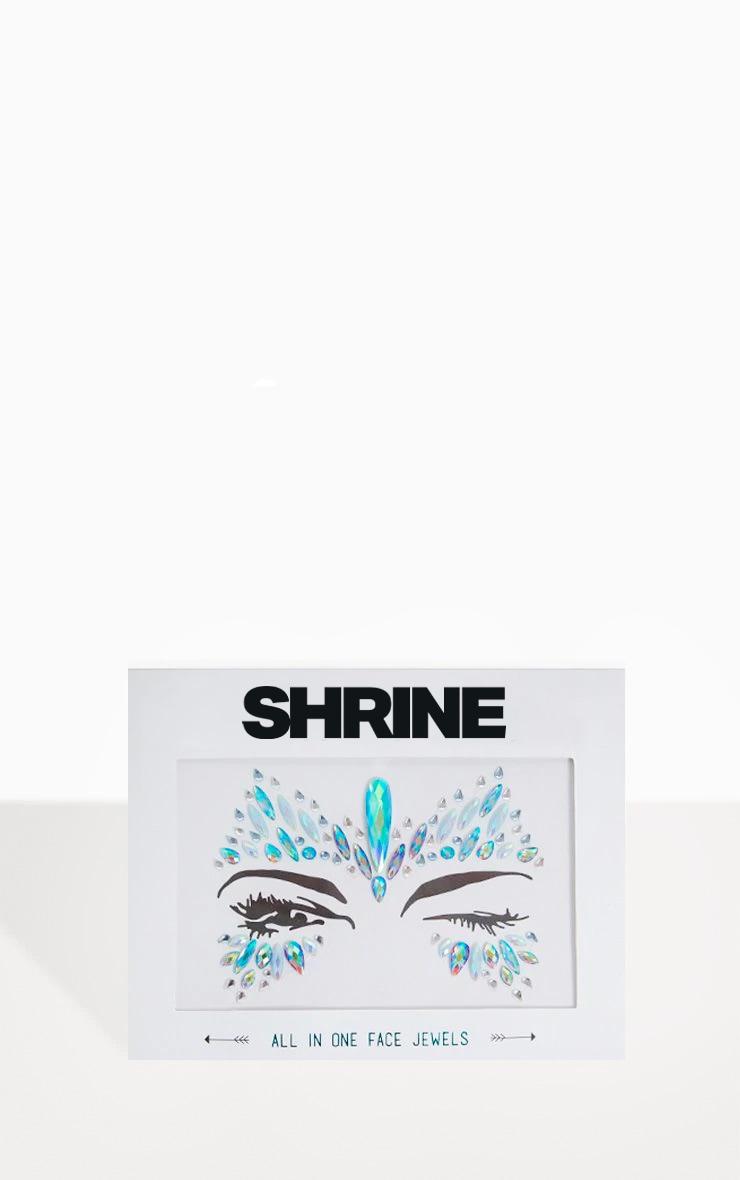 SHRINE - Bijoux visage reine des neiges 1