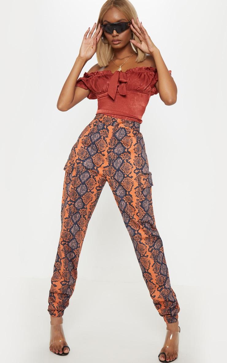 Fr Femme Pantalon Pantalon Prettylittlething Cargo Cargo wtXqHSR0