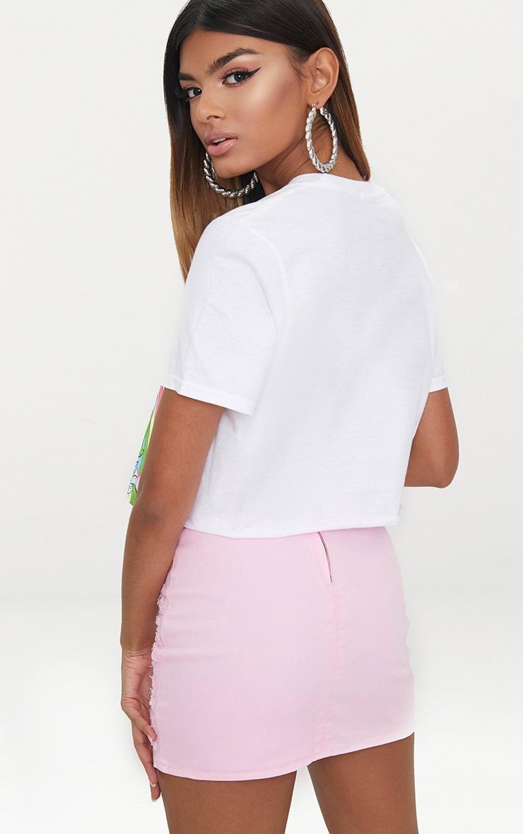 Petite White My Little Pony Slogan T Shirt 2