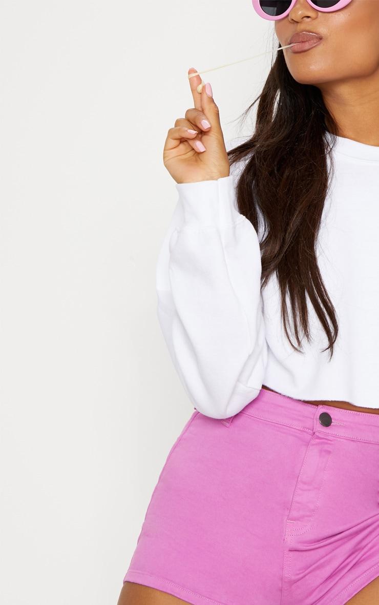 Bubblegum Pink Disco Short 5