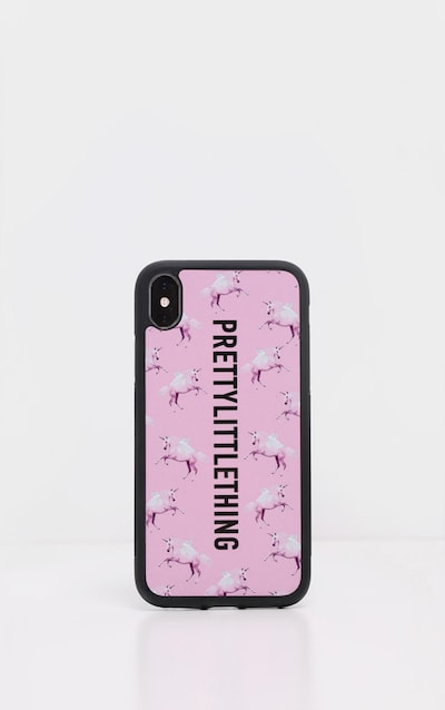 PRETTYLITTLETHING Unicorn Pink 7 Plus iPhone Case