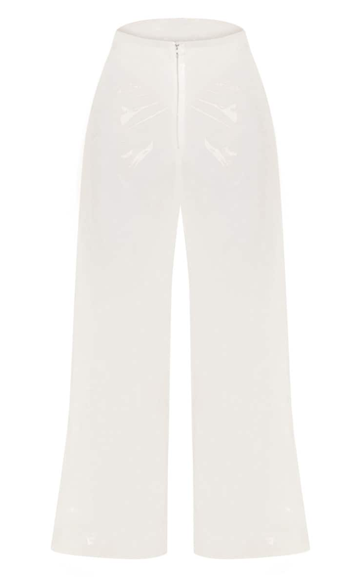 Transparent Zip Front Trouser 4