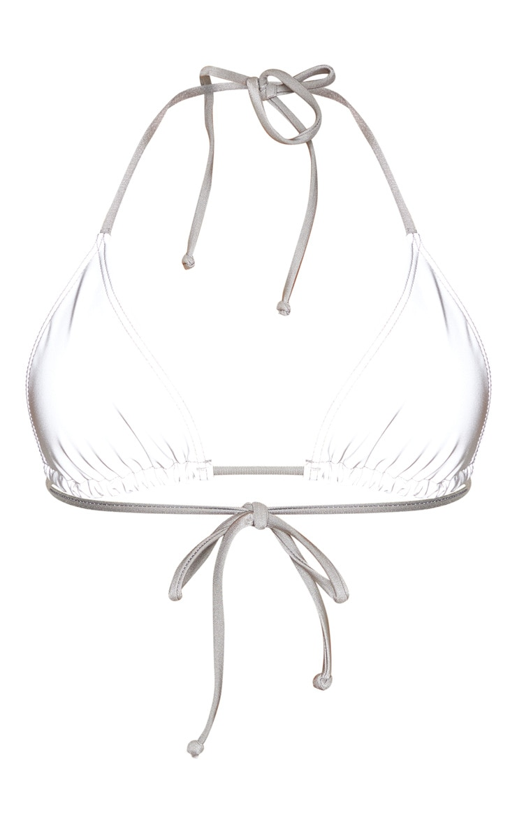 Reflective Adjustable Triangle Bikini Top 4