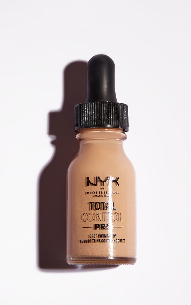 NYX PMU Total Control Pro Drop Controllable Coverage Foundation Light Ivory 2