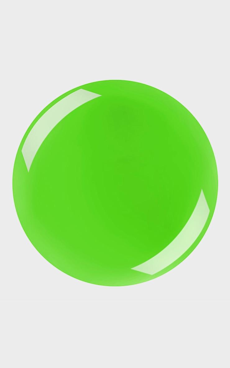 Barry M Hi Vis Nail Paint Electric Lime 2