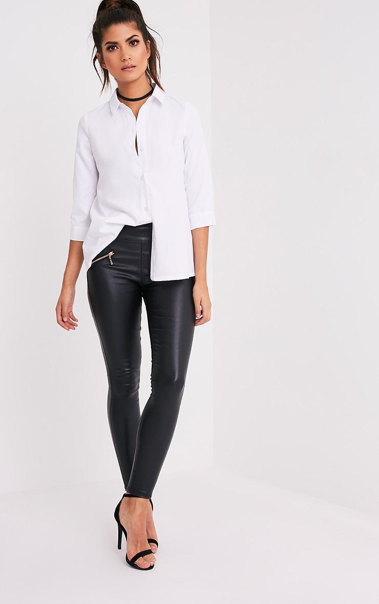 Basic t-shirt blanc 5