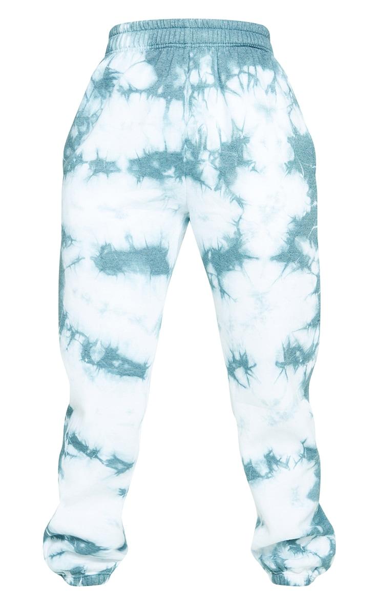 Shape Dusty Blue Tie Dye High Waist Joggers 5