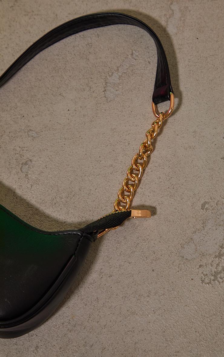 Black Gold Chain Mini Shoulder Bag 3