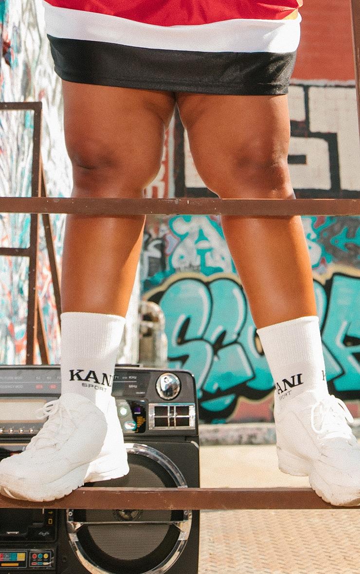 KARL KANI White Sport Socks 2