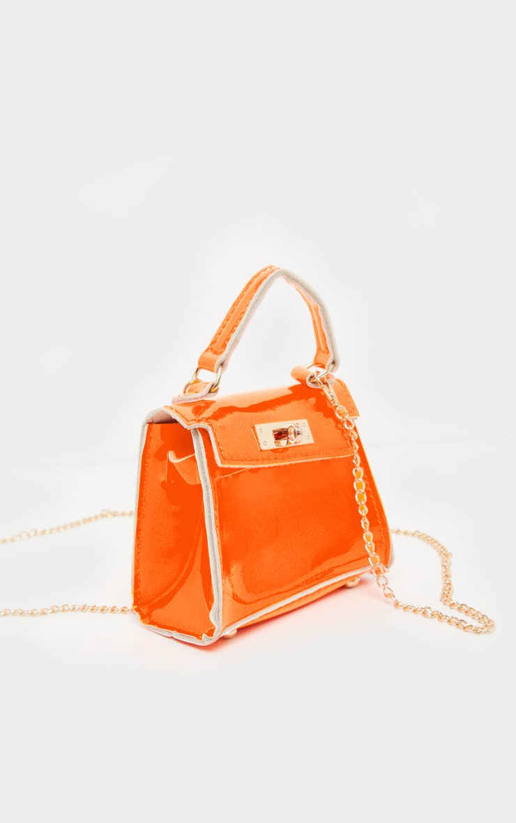 Neon Orange Micro Mini Bag 3