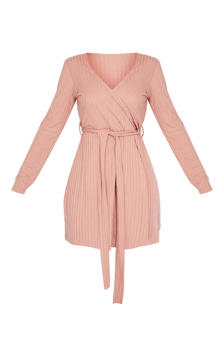 Pink Lounge Long Sleeve Dressing Gown 5