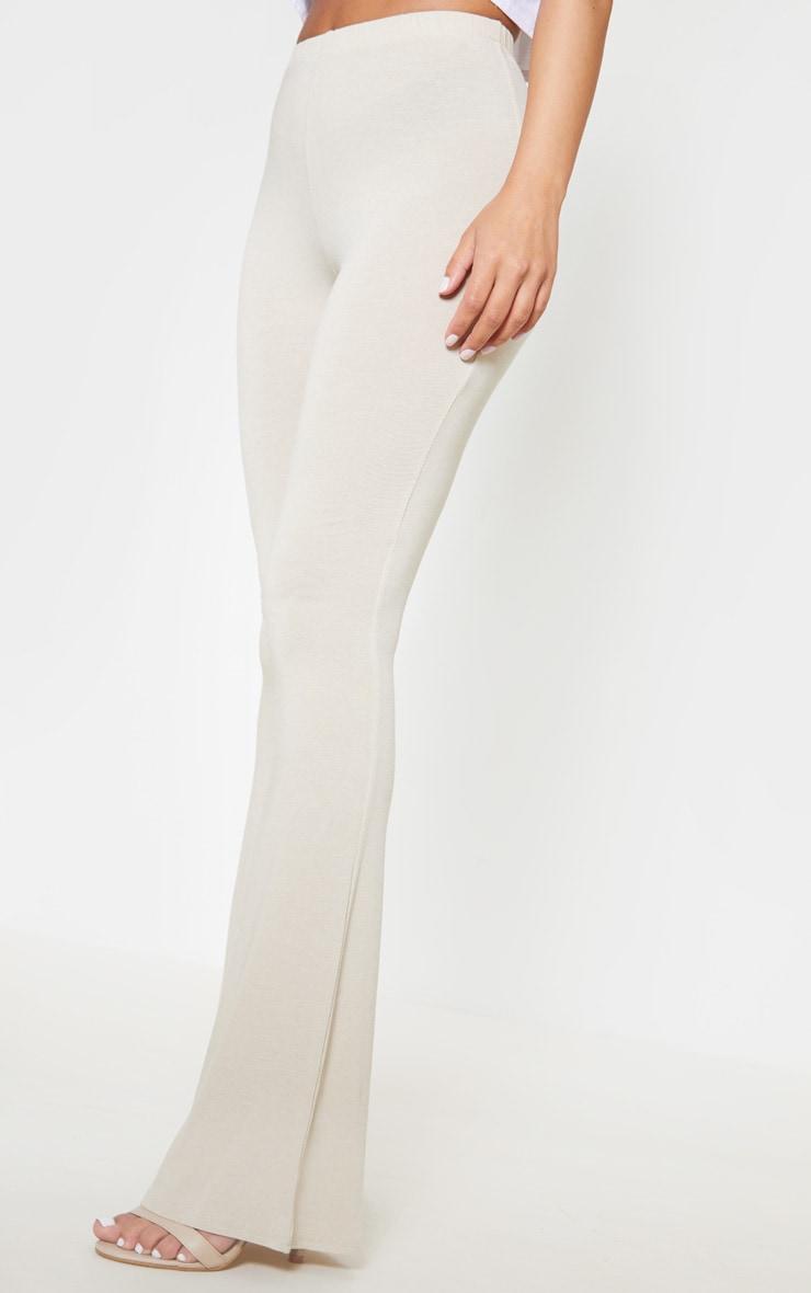 Petite Stone Basic Flare Leg Trousers 5