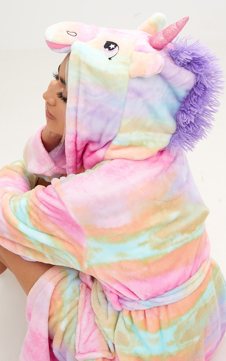 Rainbow Unicorn Dressing Gown 5