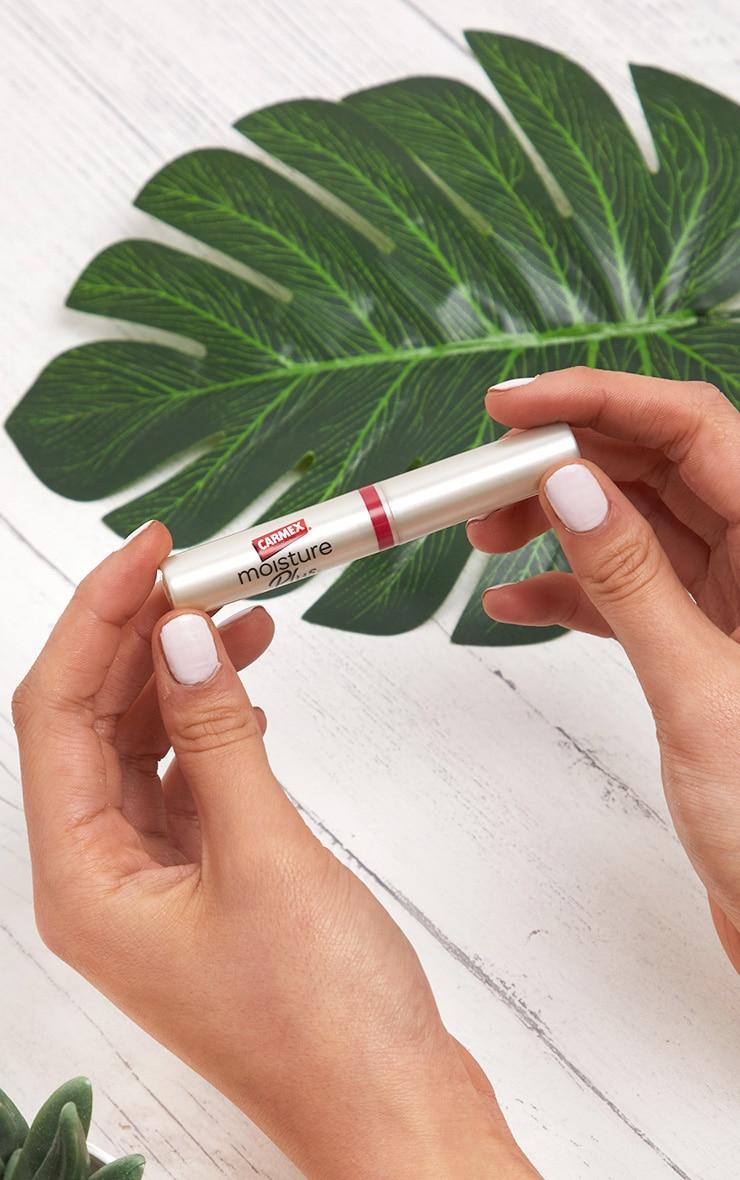 Carmex Lip Balm Moisture Plus Peach Sheer Tint SPF15 image 3