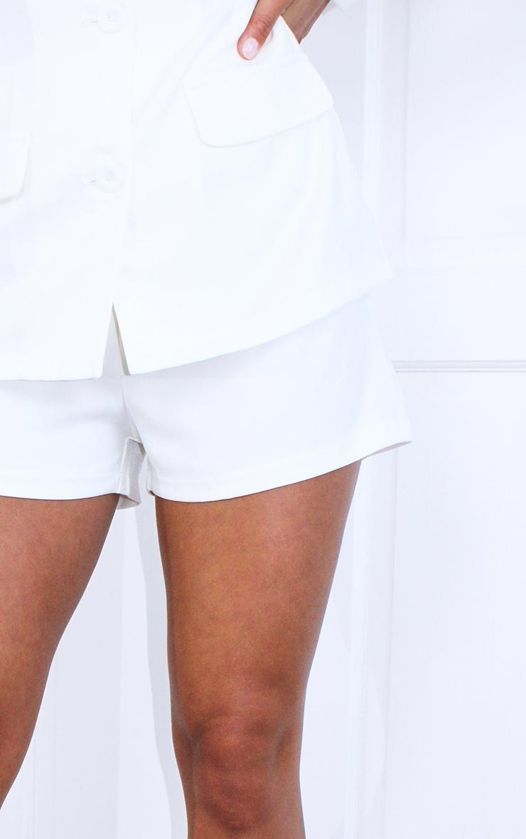 Petite Cream Suit Shorts 5