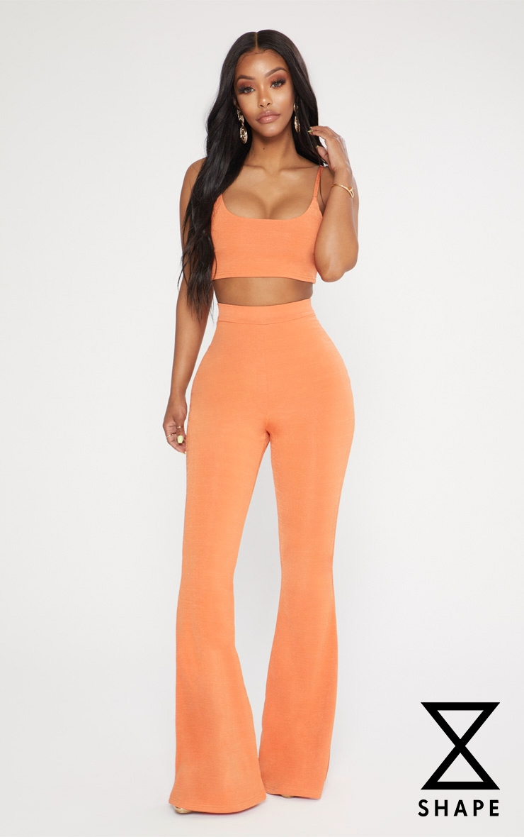 Shape Tangerine Flared Trousers 1