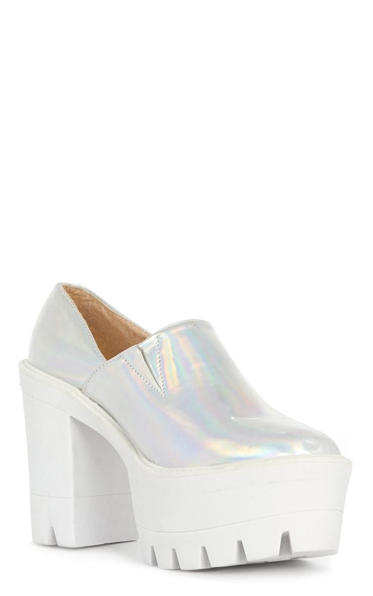 Blair Metallic Slip on Chunky Shoe  4