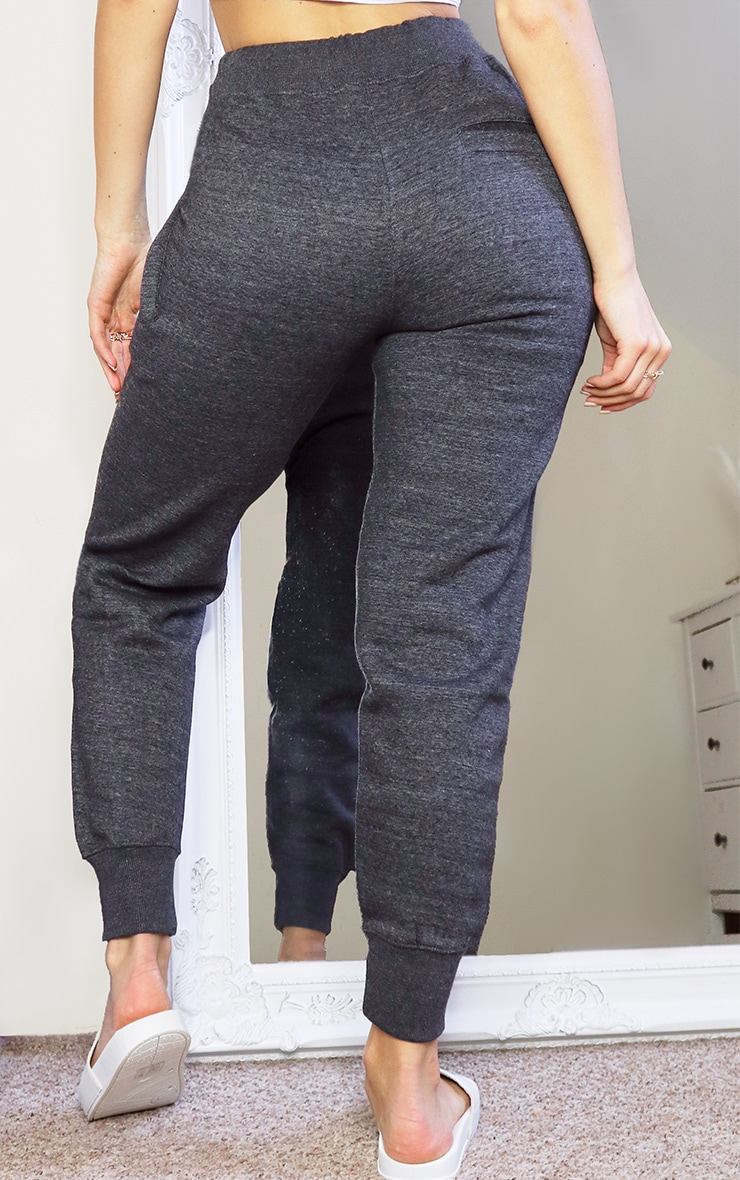 Charcoal Contrast Drawstring Joggers 3