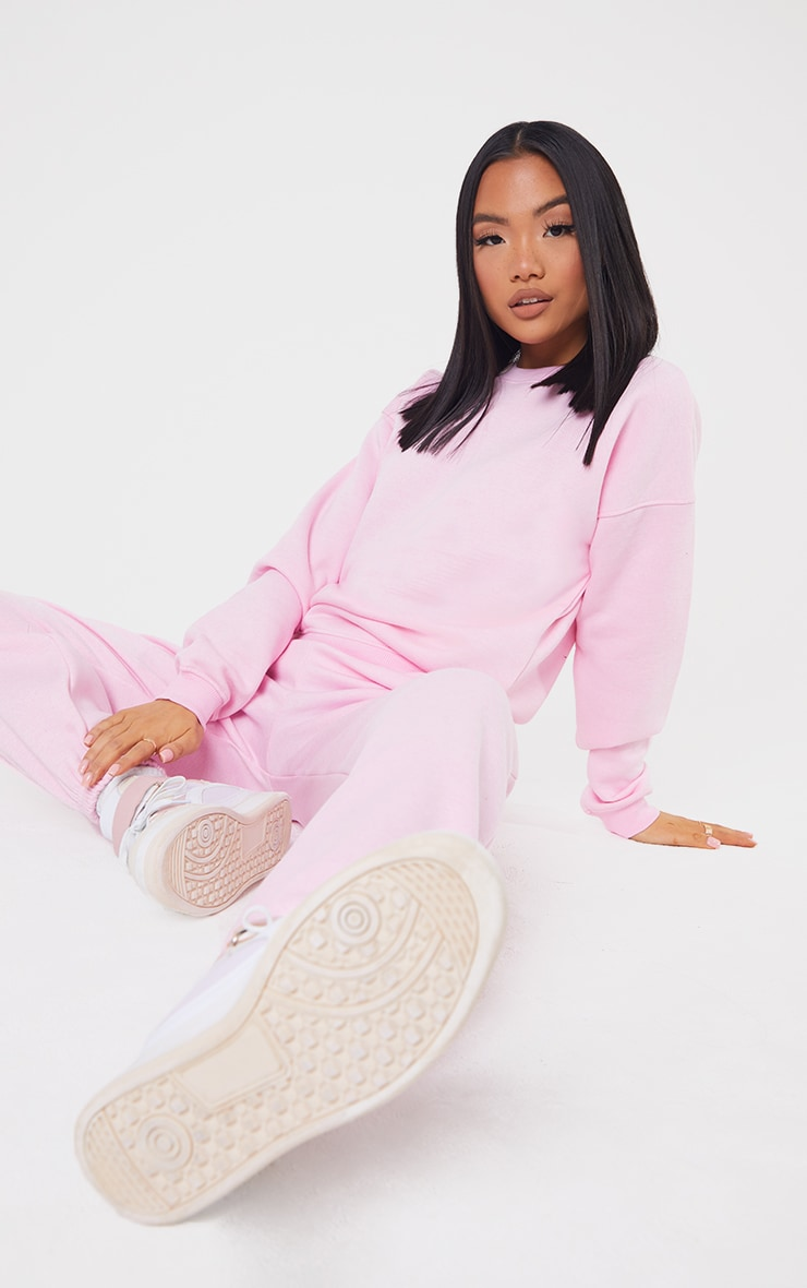 Petite Baby Pink Ultimate Oversized Sweater 3