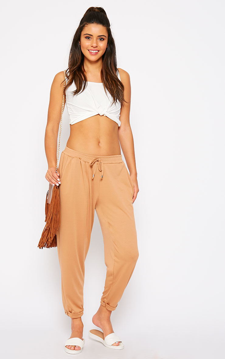 Connie Camel Trousers 1
