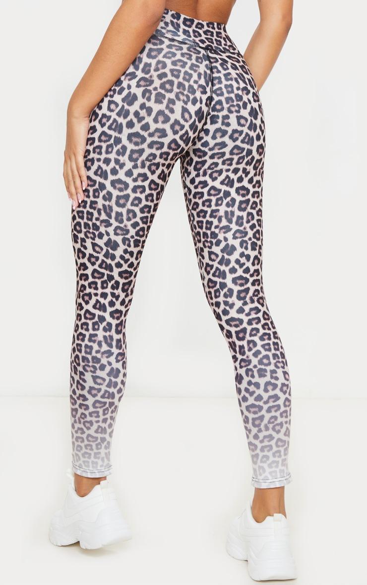 Leopard Ombre Print Leggings 3