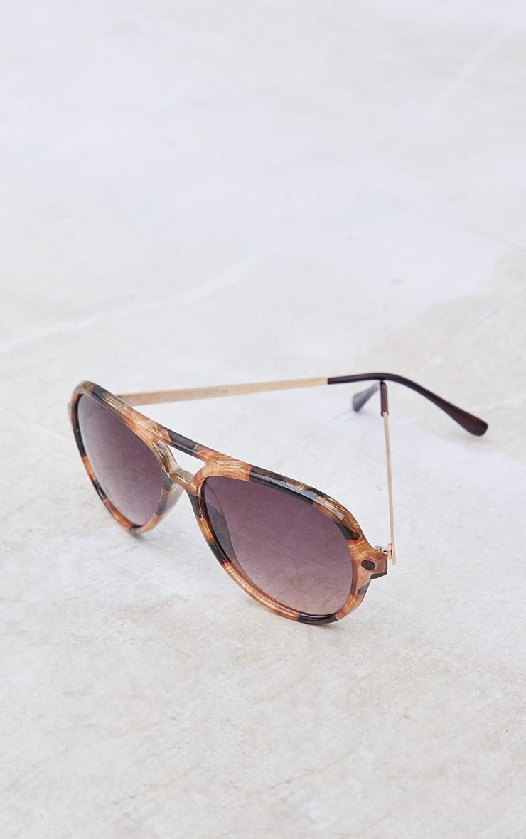 Tort Aviator Sunglasses 3