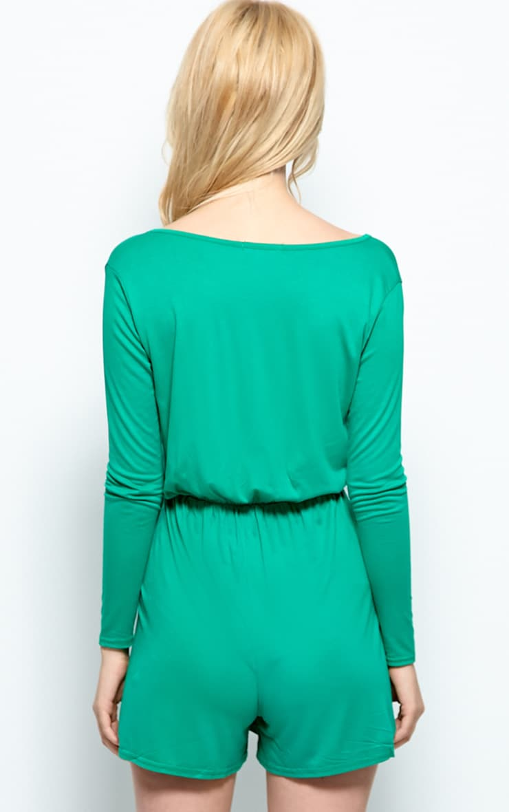 Maddison Green Wrap Over Playsuit  2