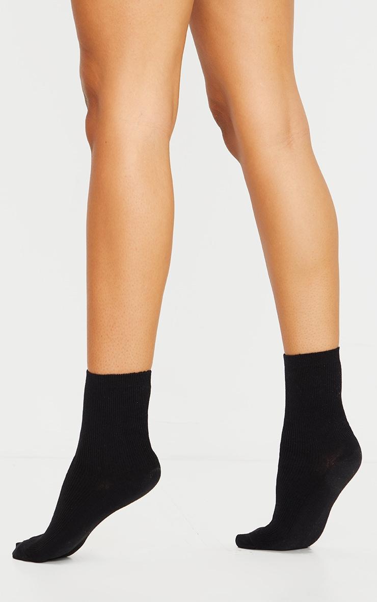 Black Sports Sock 2