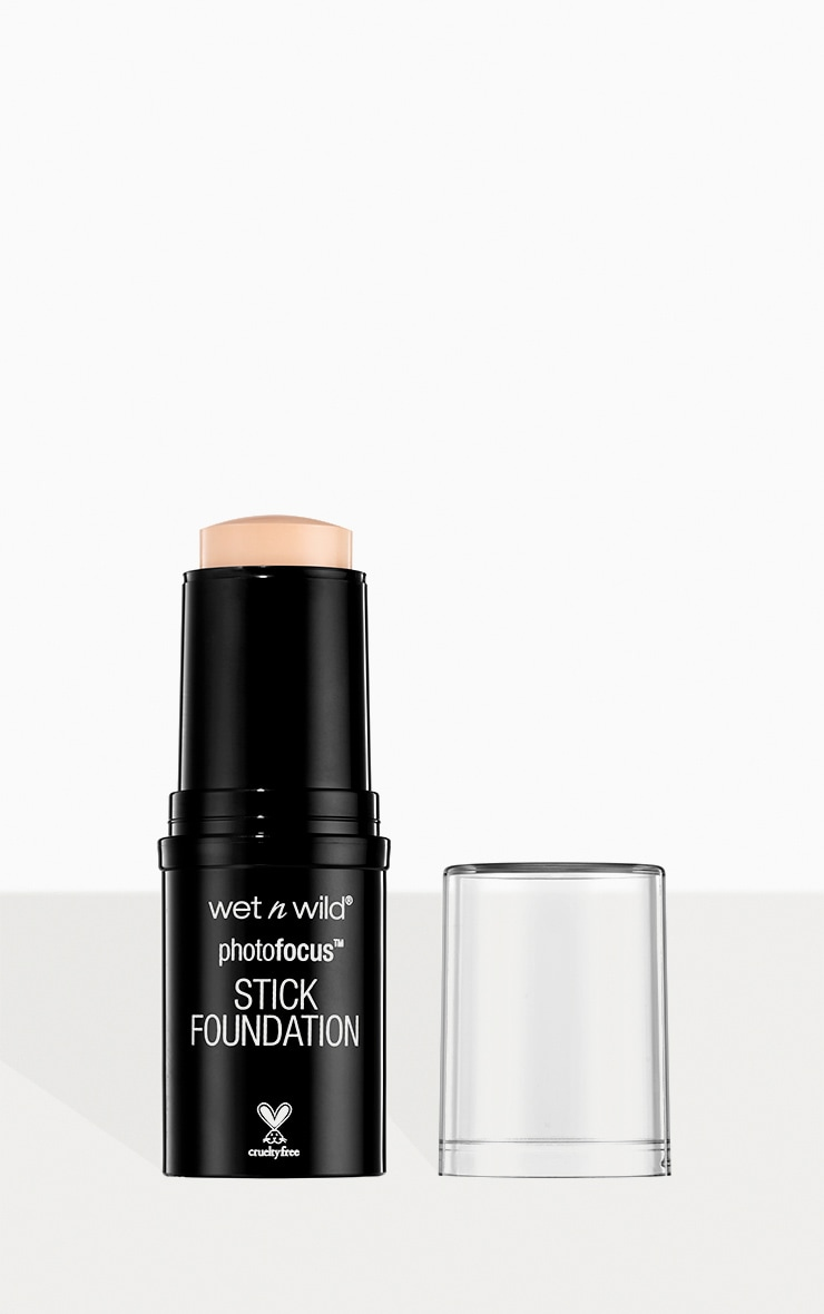 wet n wild Photo Focus Stick Foundation Soft Ivory image 1