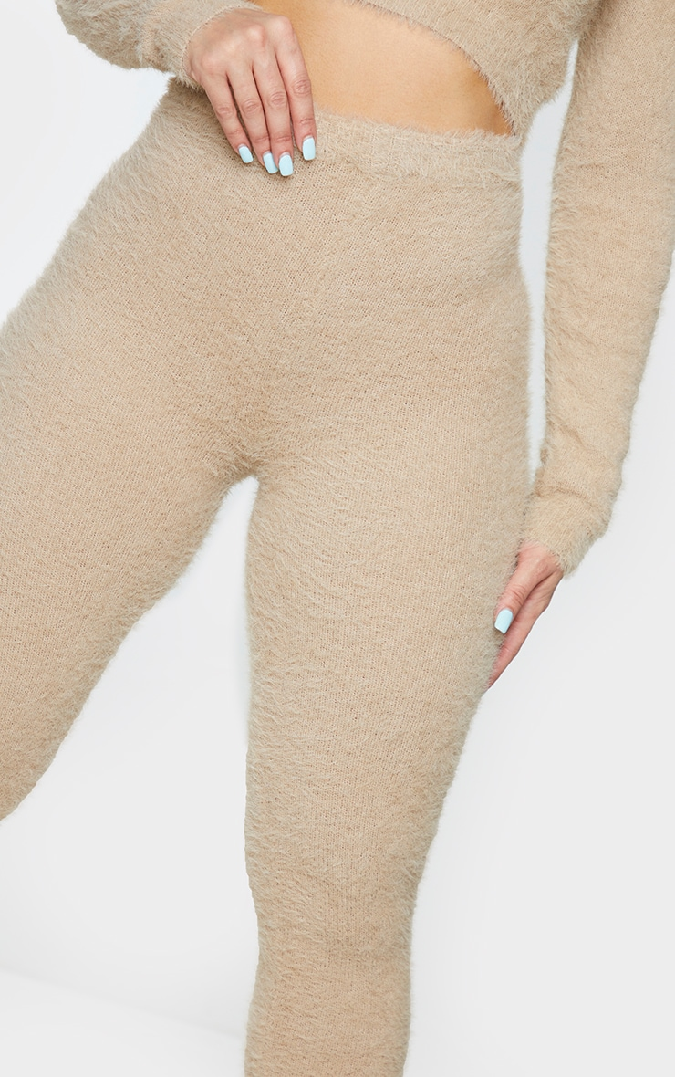 Shape Stone Fluffy Knit Leggings 4