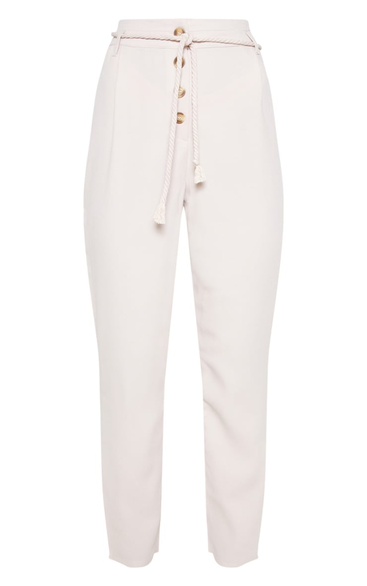 Stone Rope Tie Detail Trouser 3