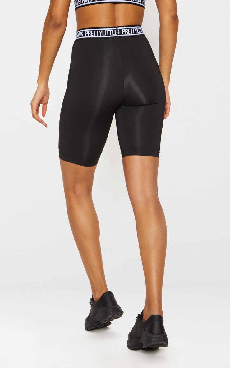 PRETTYLITTLETHING Black Bike Shorts 5