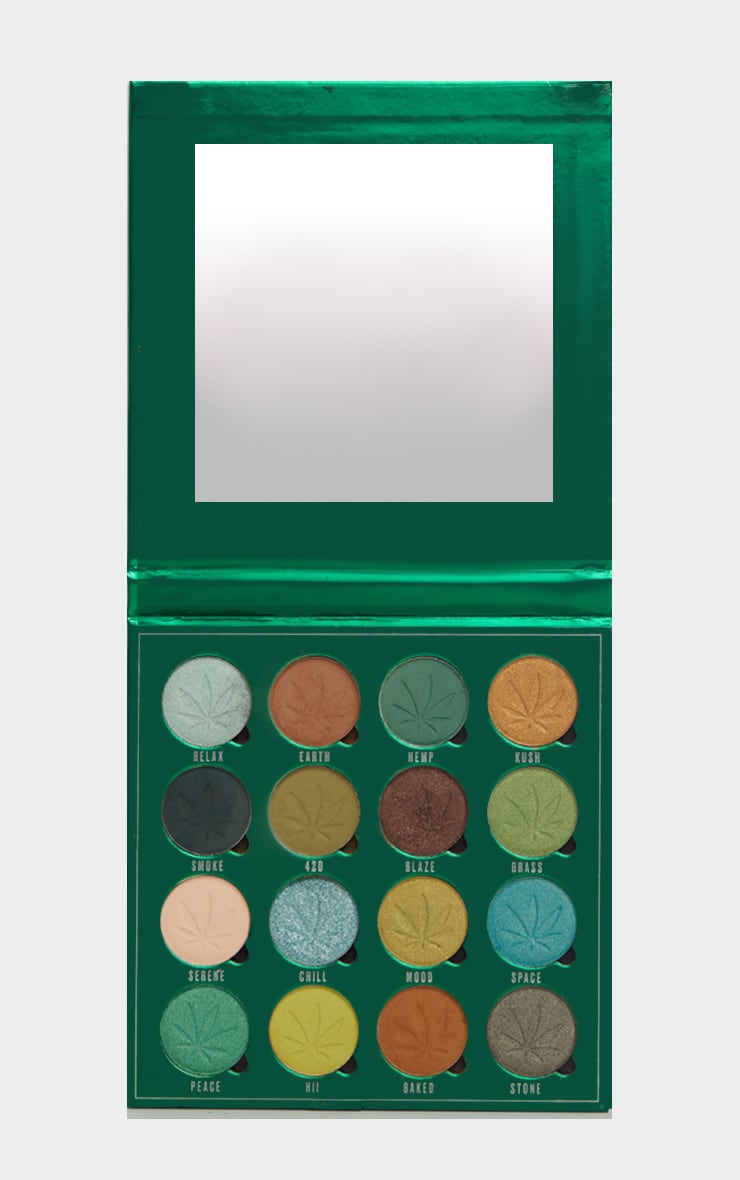 Makeup Obsession So Dope Shadow Palette with Cannabis Sativa 2